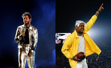 YG Roasts A Sullen Post Malone After LA Rams Playoff Win
