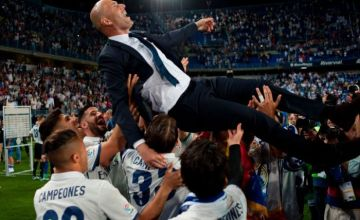 Chelsea To Sign Zidane To Replace Manager Sarri