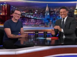"Logic Talks ""Supermarket,"" Writing & More On The Daily Show"