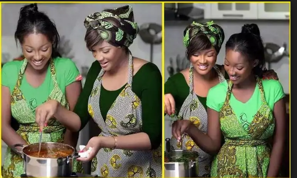 4 Reasons Omotola Jalade-Ekeinde And Daughter, Meraiah Are Mother-Daughter Goals