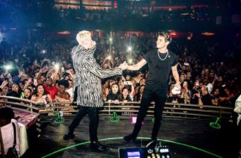 G-Eazy-Brings-Out-Machine-Gun-Kelly-In-Las-Vegas-350x230