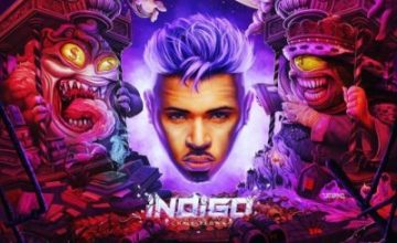 Chris Brown Reveals 'Indigo' Album Cover