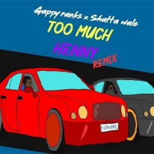 Gappy Ranks ft Shatta Wale – Too Much Henny (Remix)
