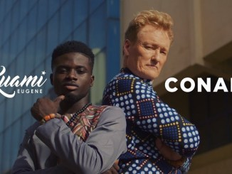 VIDEO: Kuami Eugene – For Love ft. Conan O'Brien