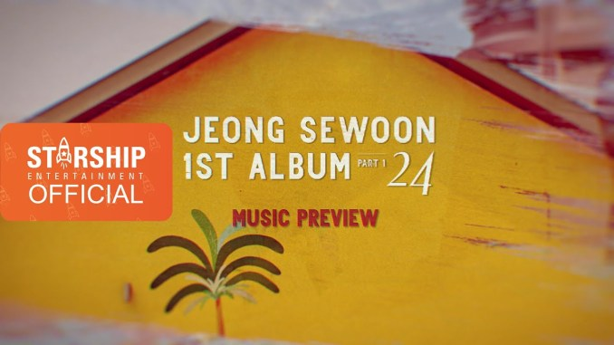 Jeong Sewoon - 1st album preview