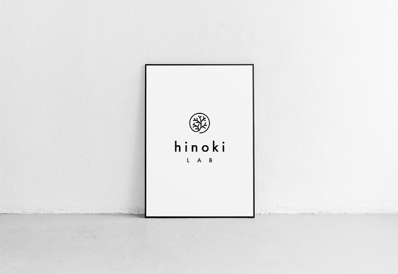 hinoki LABのロゴ