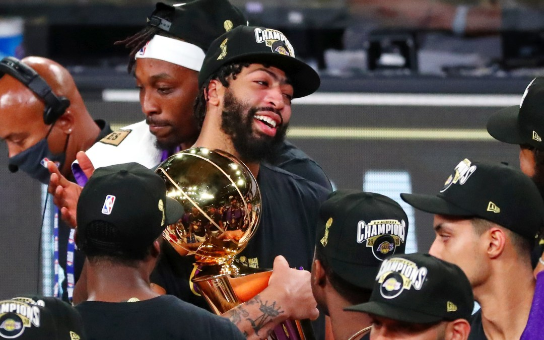 End of an era: Anthony Davis is an NBA champion