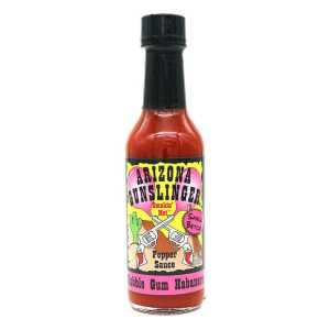 Arizona Gunslinger Bubble Gum Habanero Hot Sauce