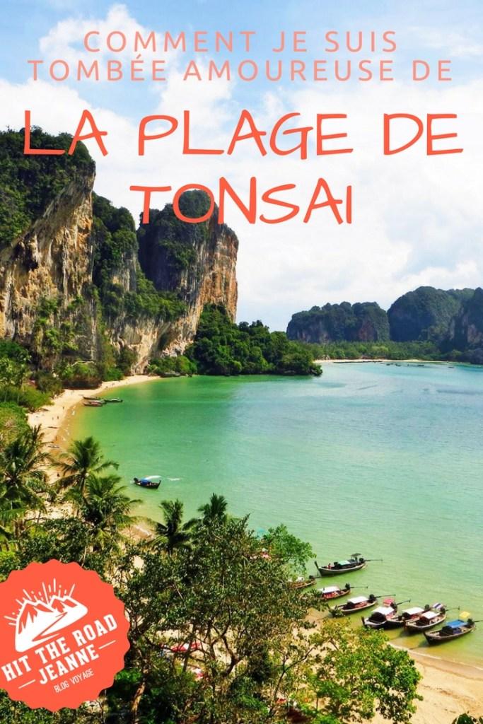 Comment je suis tombée amoureuse de la plage de Tonsai (Krabi, Thaïlande)