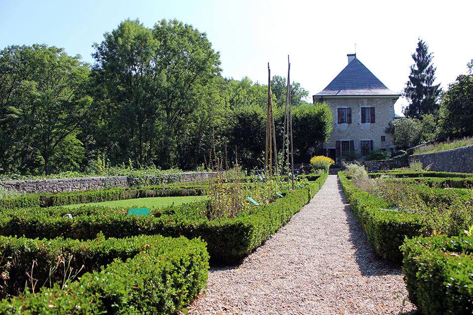 """La maison de Jean-Jacques Rousseau """"Les Charmettes"""" à Chambéry en Savoie (France)"""