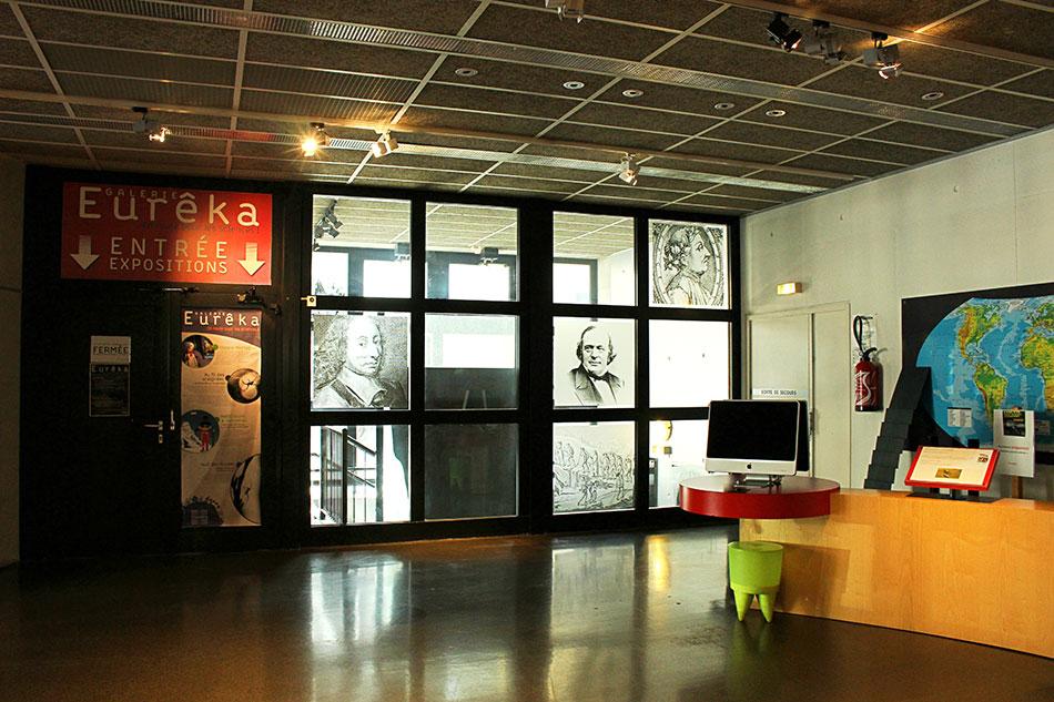 Galerie Eurêka dans le Carrée Curial à Chambéry en Savoie (France)