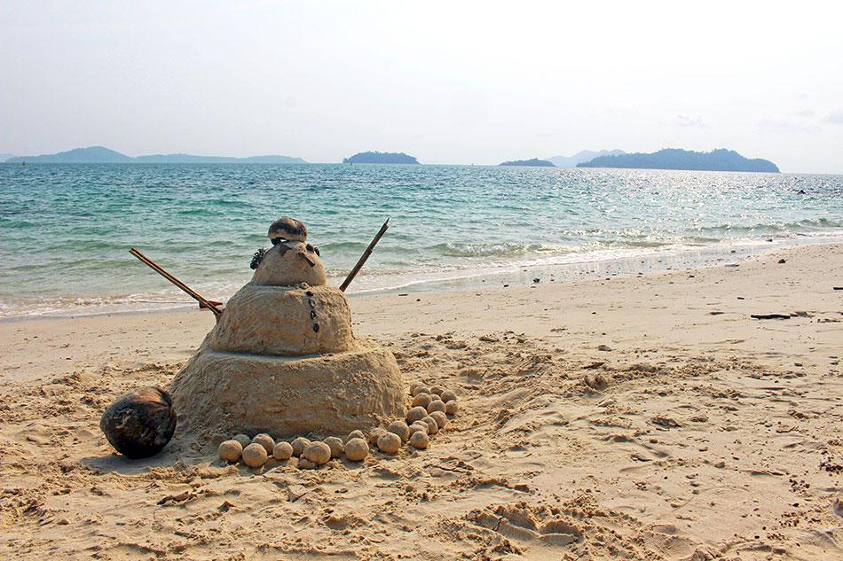 Memorial Beach au sud de Koh Chang en Thaïlande