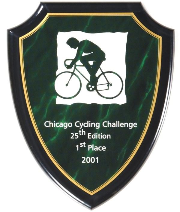 Green Shield Plaque CP750-G