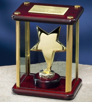 2988G Gold Star Trophy