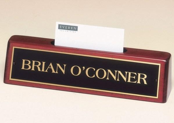 541 Desk Name Plate