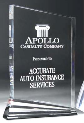 Nouveau Acrylic Award DT17