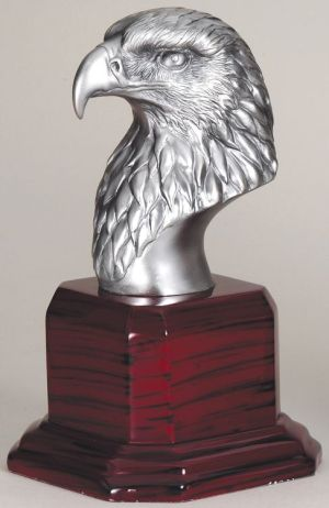 Silver Eagle Head AE215