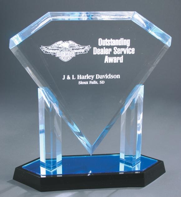 AFD12BU Acrylic Award