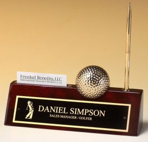 BC525 Golf Name Plate