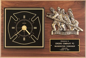 BC96 Firefighter Retirement Clock