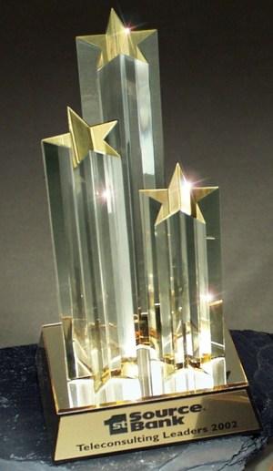 DT212 Acrylic Star Trophy