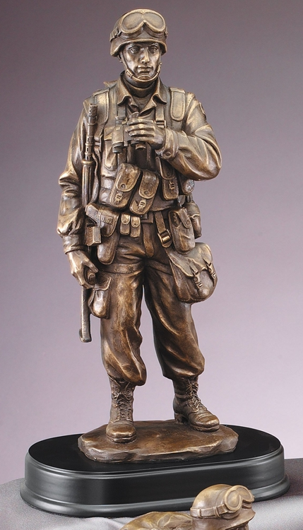 MIL200 Military Statue