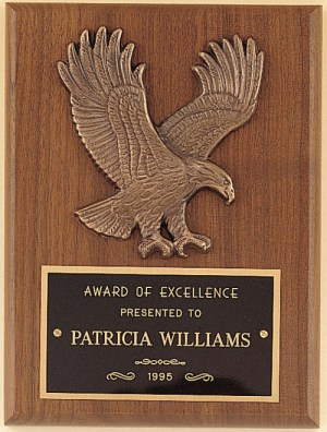 P1784 Eagle Plaque