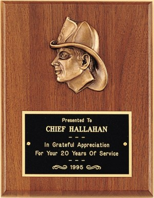 Firefighter Plaque P2792 P2793