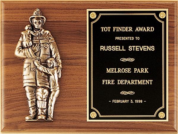P7/X Firefighter Plaque