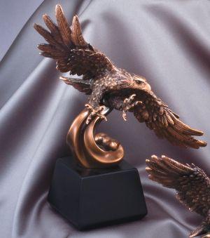 Soaring Eagle Statue-0