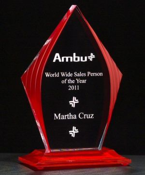 A6833 A6834 A6835 Acrylic Award