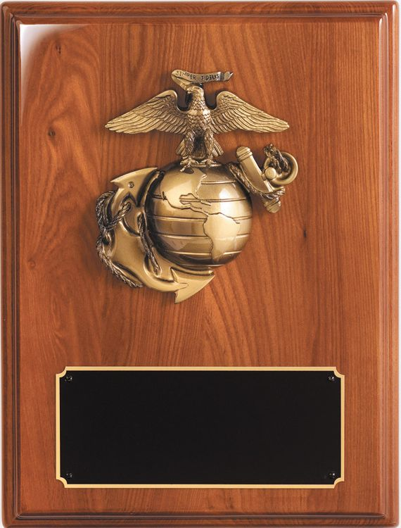 WP224 Blank Marine Plaque