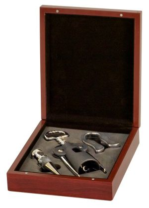 Rosewood Wine Tool Set