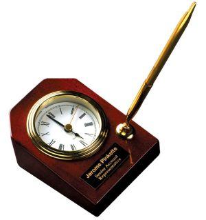 T063 Desk Clock with Pen