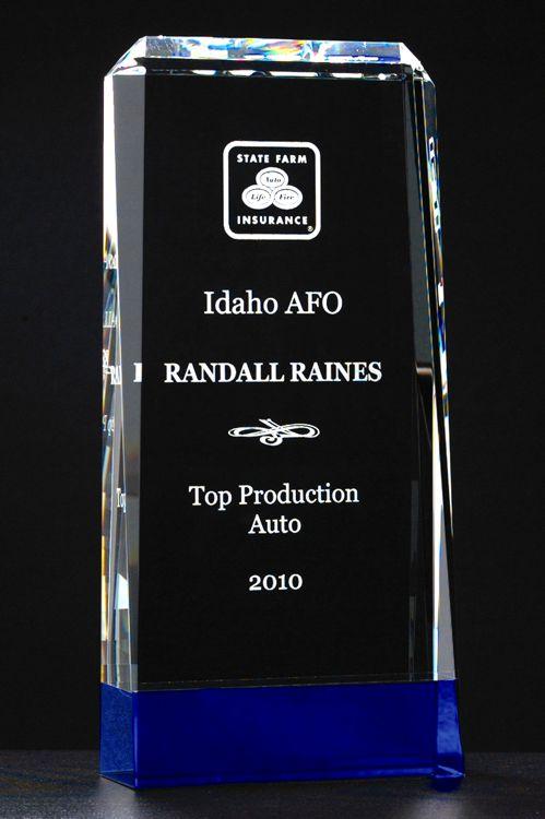 K9051 K9052 K9053 Crystal Award