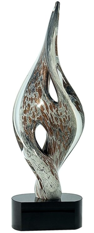 AGS14 Twist Spire Art Glass