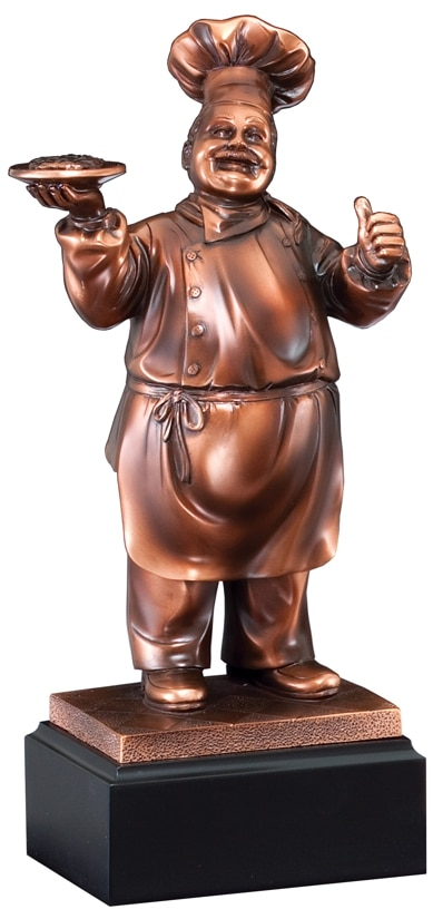 Chef Award Statue RFB066