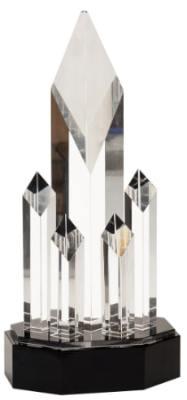 CRY6924M Crystal Trophy