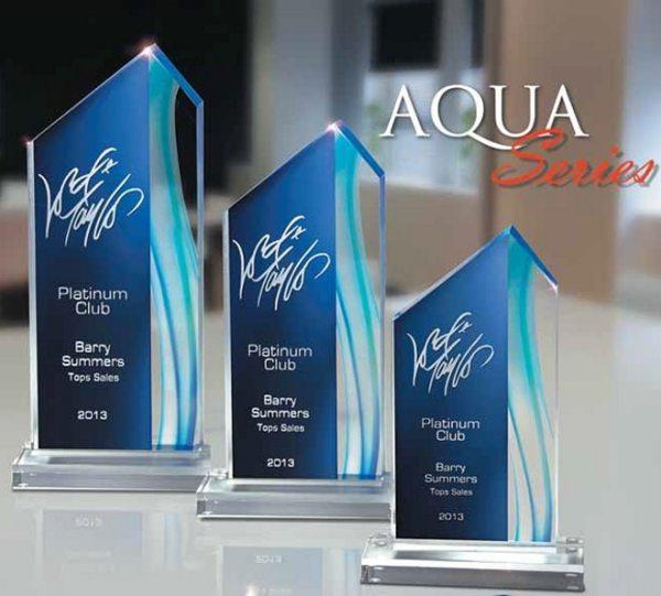 Aqua Acrylic Award