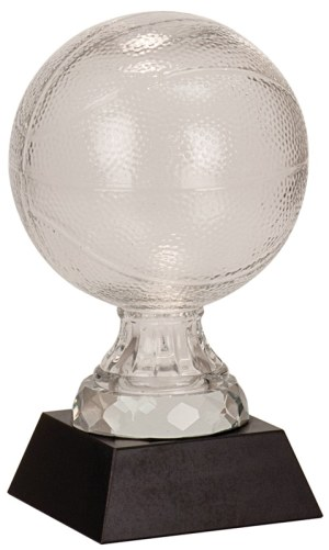 SBG102 Glass Basketball Trophy