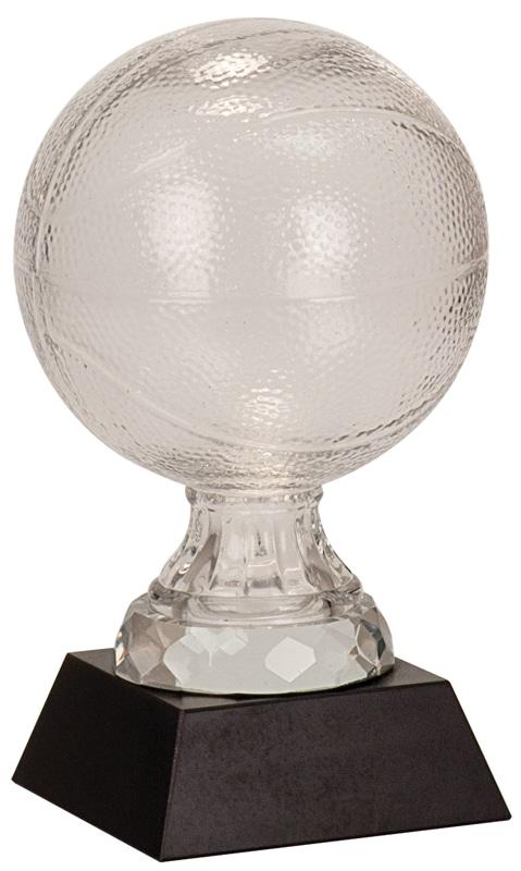 SBG102 Glass Basketball Trophy