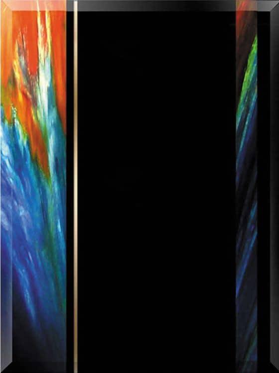 Art Glass Plaque DT544A & DT544B-blank