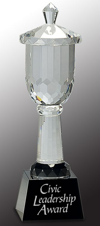 CRY006 Crystal Trophy Cup