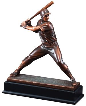 Baseball Batter Statue Trophy RFB041