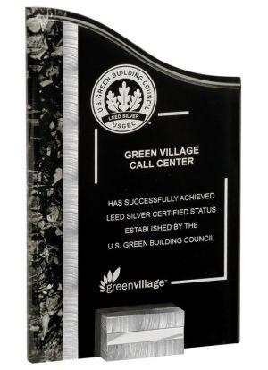 VPX816ASBK SunRay Acrylic Award