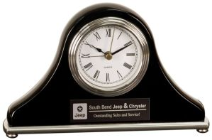 Black Mantel Clock T304