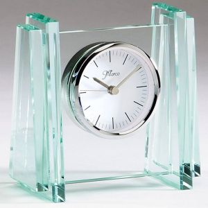 Q403 Glass Desk Clock