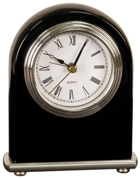 Black Desk Clock T301