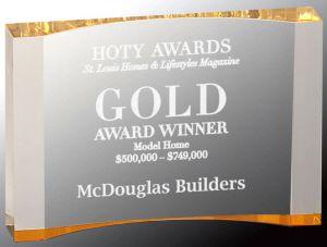 TAC58GD Gold Crescent Award