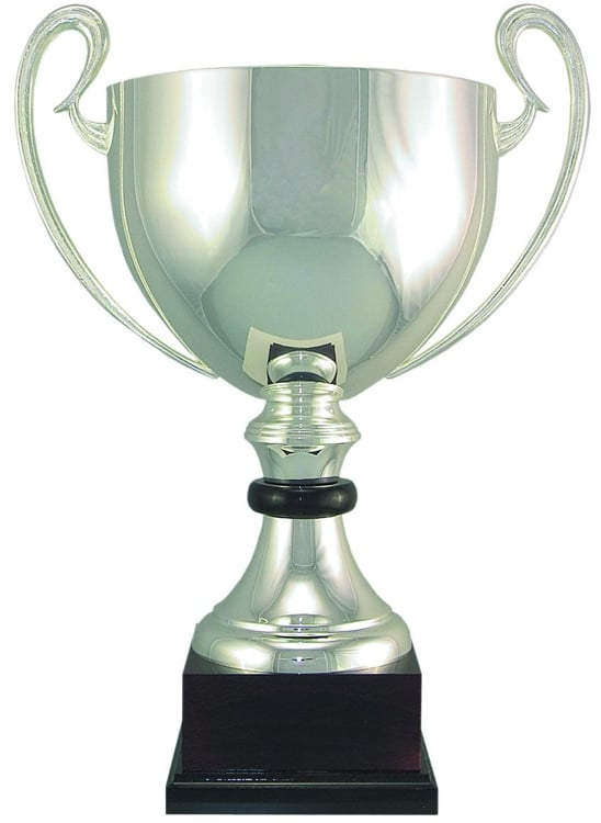 100-0 Silver Trophy Cup